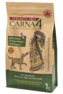 Carna4 Synthetic Free Hand-Crafted Dog Food