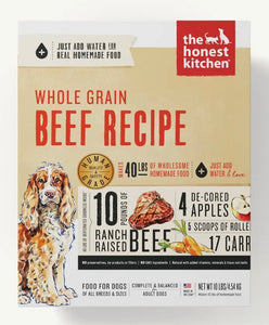 The Honest Kitchen Dehydrated Whole Grain Recipes