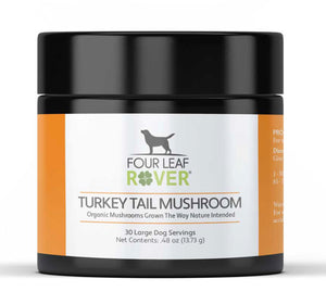 Four Leaf Rover Turkey Tail Mushroom Extract