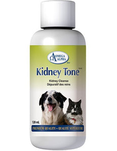 Omega Alpha Kidney Tone | Kidney Cleanse for Dogs & Cats | 120ml