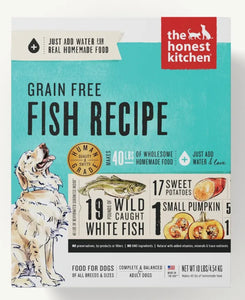 The Honest Kitchen Dehydrated Grain Free Recipes for Dogs