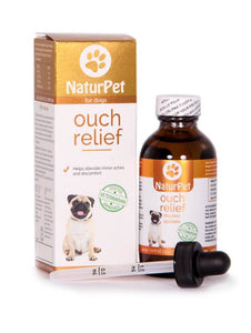 NaturPet Ouch Relief | 100% Natural Pain Relief | 100ml