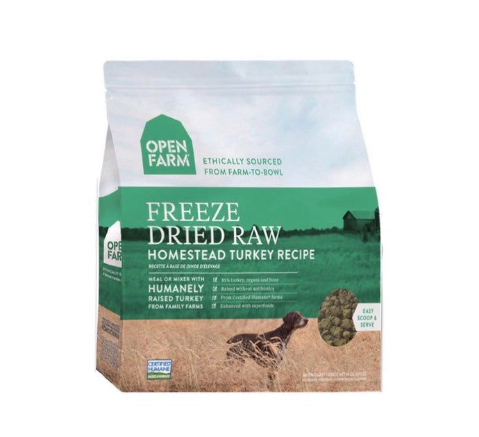 Open Farm Freeze Dried Raw 383g