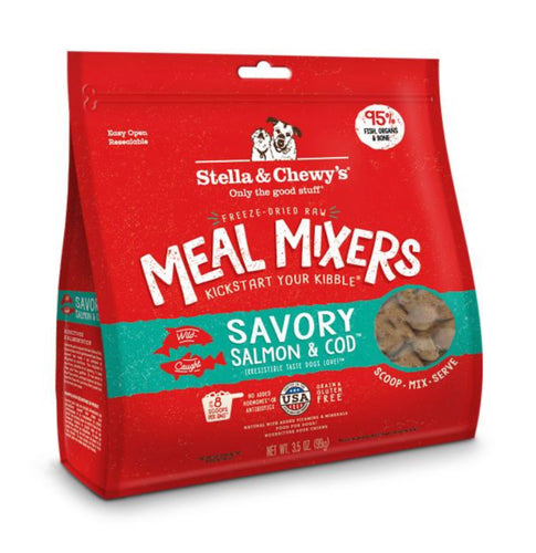 Stella & Chewy's Savory Salmon & Cod Meal Mixers 99g