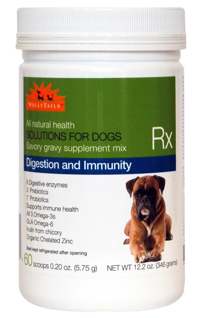 Welly Tails Digestion & Immunity Supplement for Dogs 345g