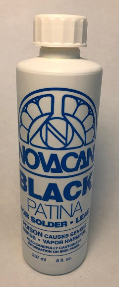 Novacan Black Patina 8oz.