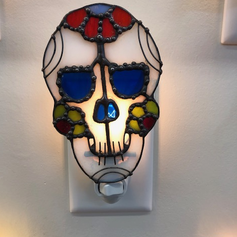 Sugar Skull Nightlight