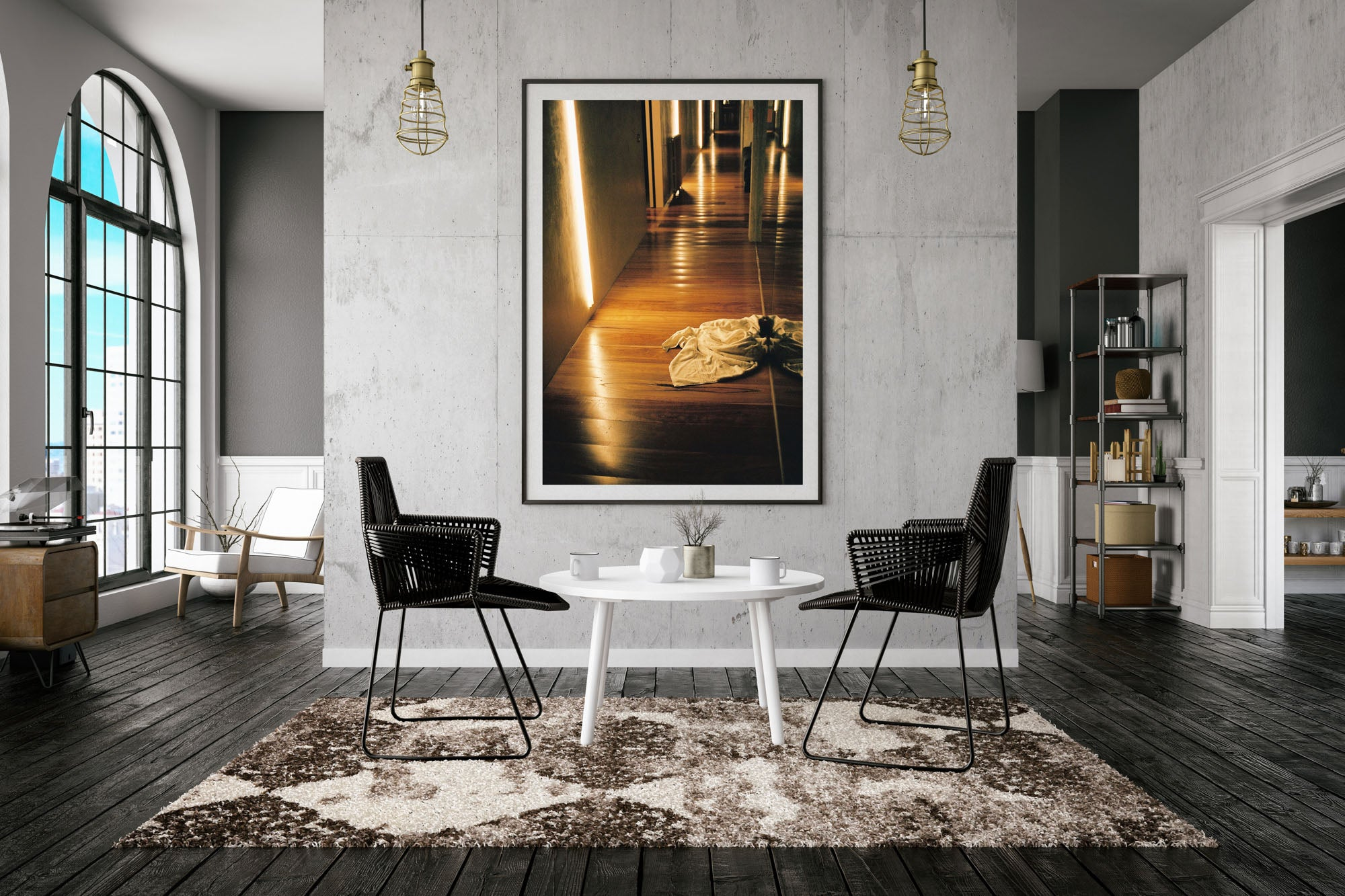 """A photograph with a white towel on the wooden floor in a hallway"". Artwork, Prints, wall art, GoldCoast Queensland Australia, Photographic prints, Ocean Beach, Framed artwork, Beach Posters   Film photography, Vintage photo style,  Interior design, Film photography Pictures sun & surf, Abstract"