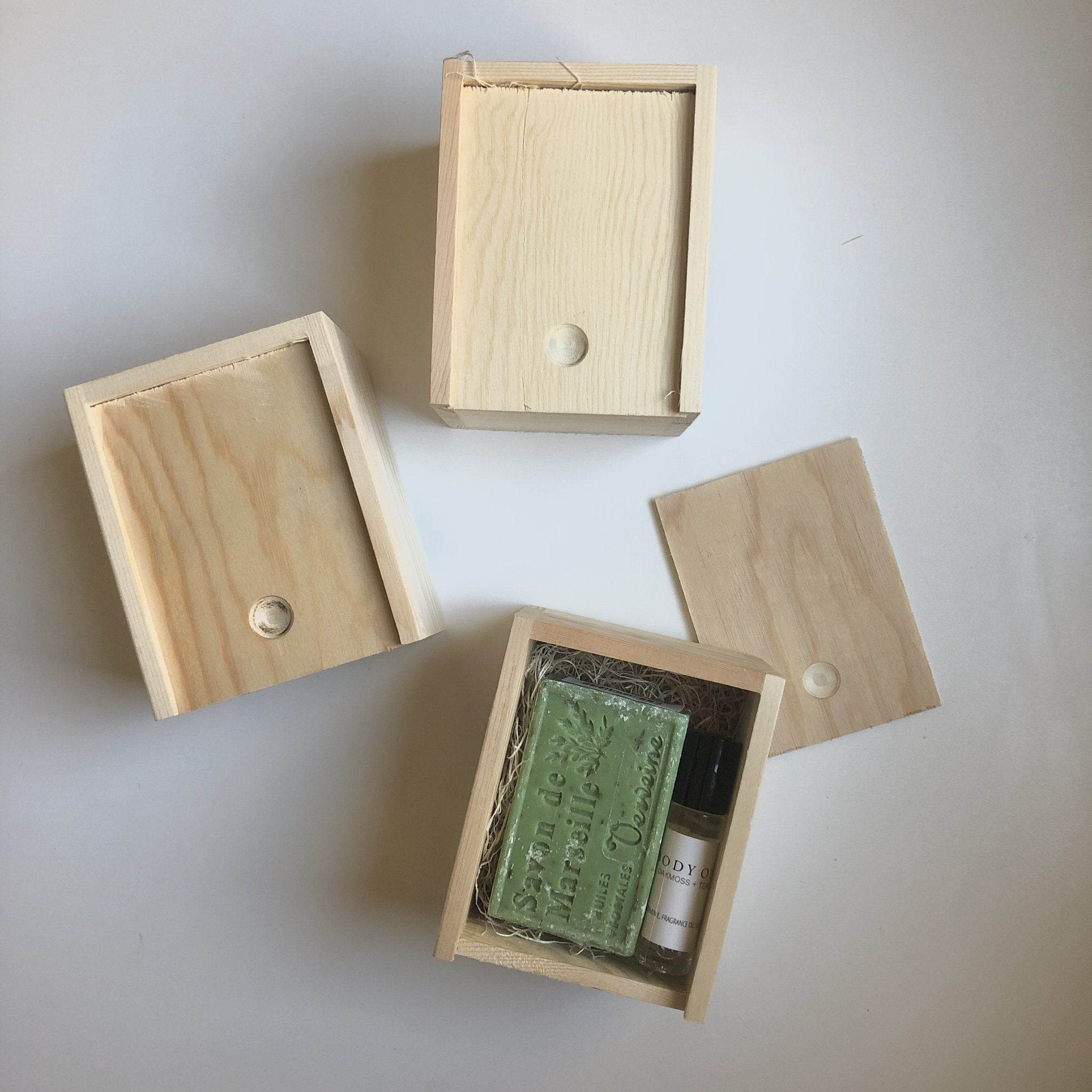 Small Wood Gift Box