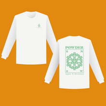 Load image into Gallery viewer, Powder Snow T-shirt (Long Sleeve 長袖)