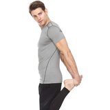 Athletic Compression Shirt - Short Sleeve Set-In
