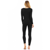 Women's Ultra Soft Thermal Scoop Neck Set