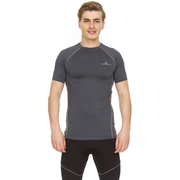 Thermajohn Athletic Compression Shirt - Short Sleeve Raglan