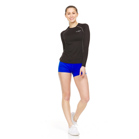 Women's Athletic Compression Shirt - Long Sleeve
