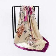 Load image into Gallery viewer, Exotic Island Dreams Silk Scarf