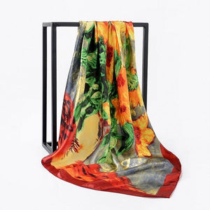 Exotic Island Dreams Silk Scarf