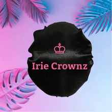 Load image into Gallery viewer, Irie Crownz Double-Lined Silk Bonnet