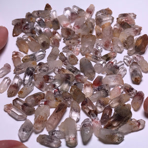Quartz with Hematite - 100 grams