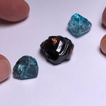 Load image into Gallery viewer, Cambodian Blue Zircon - stones with inclusions