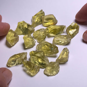 Lemon Quartz - 50 gram parcels