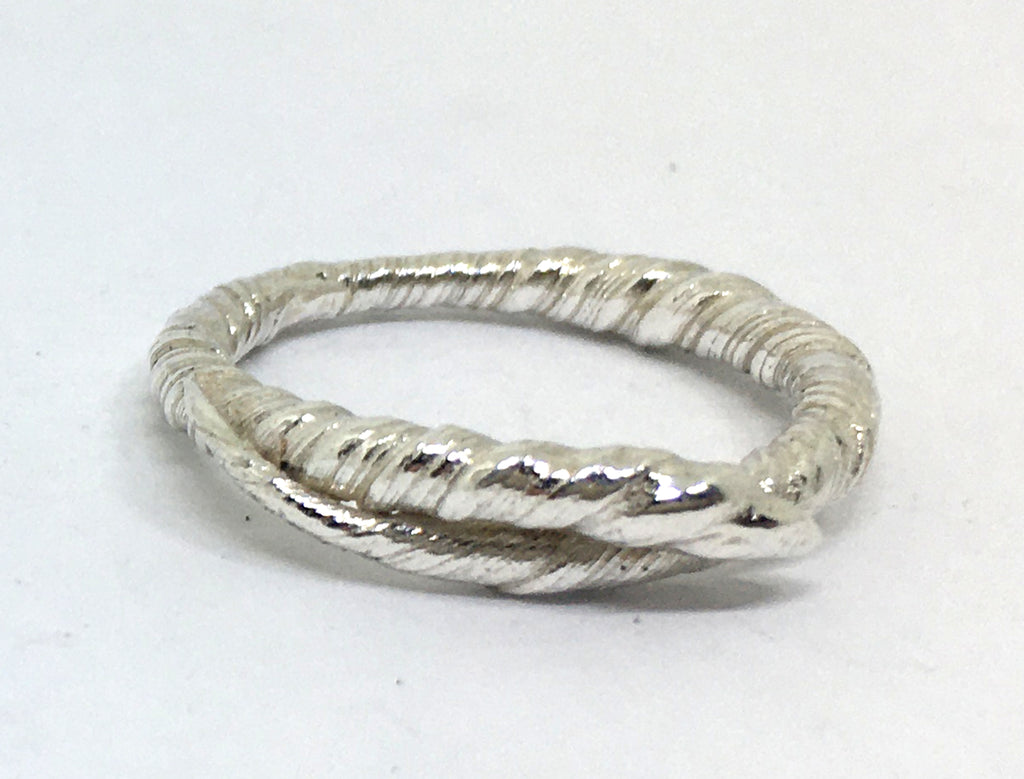 sterling silver twisted vine ring - mitsuro hikime
