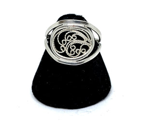 Filigree Ring - Size 8.5