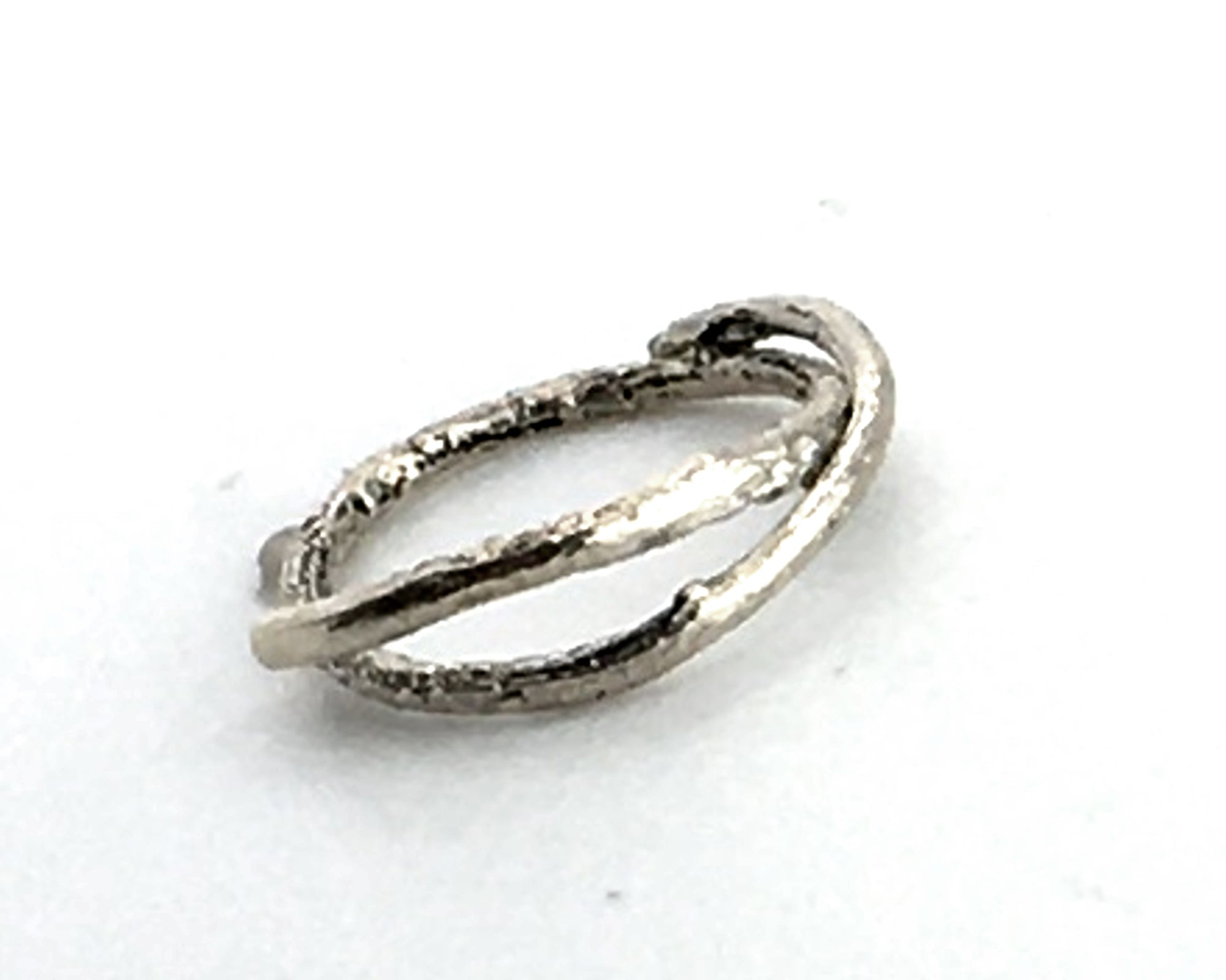 Sterling Silver Olive Twig Band