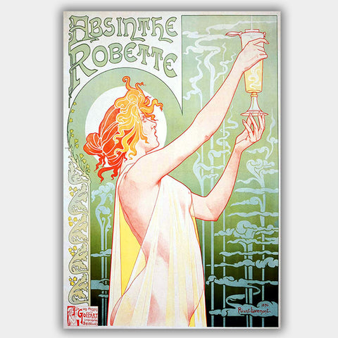 1896 Absinthe Vintage (1896) - Poster - 13 x 19 inches