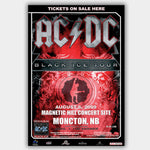 AC/DC with Anvil (2009) - Concert Poster - 13 x 19 inches