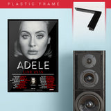 Adele (2016) - Concert Poster - 13 x 19 inches