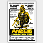 Angels Hard As They Come (1971) - Movie Poster - 13 x 19 inches