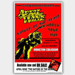 April Wine with Harlequin (1981) - Concert Poster - 13 x 19 inches