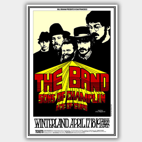 Band (1969) - Concert Poster - 13 x 19 inches