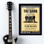 Band with Tom Rush (1969) - Concert Poster - 13 x 19 inches