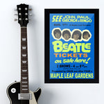 The Beatles (1966) - Concert Poster - 13 x 19 inches
