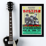 Beatles with Ronnettes (1966) - Concert Poster - 13 x 19 inches