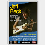 Jeff Beck (2009) - Concert Poster - 13 x 19 inches