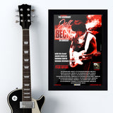 Jeff Beck with Tyler Bryant (2011) - Concert Poster - 13 x 19 inches