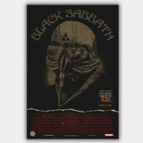 Black Sabbath (2013) - Concert Poster - 13 x 19 inches