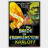 Bride Of Frankenstein (1935) - Movie Poster - 13 x 19 inches