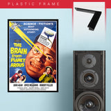Brain From Planet Arous (1957) - Movie Poster - 13 x 19 inches
