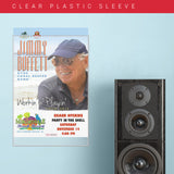 Jimmy Buffet (2015) - Concert Poster - 13 x 19 inches