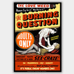 Burning Question (1943) - Movie Poster - 13 x 19 inches