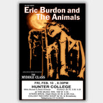 Eric Burden with The Myddle Class (1969) - Concert Poster - 13 x 19 inches