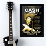 Johnny Cash with June Carter (1968) - Concert Poster - 13 x 19 inches