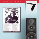 Carpenters (1972) - Concert Poster - 13 x 19 inches