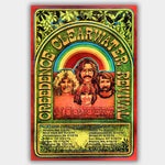 CCR Creedence Clear (1970) - Concert Poster - 13 x 19 inches