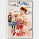 Coca Cola - Tonic (1901) - Advertising Poster - 13 x 19 inches