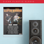 Eric Clapton with Steve Winwood (2009) - Concert Poster - 13 x 19 inches