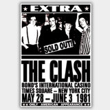Clash (1981) - Concert Poster - 13 x 19 inches